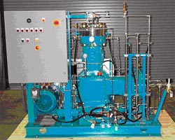 Diaphragm Compressor Package